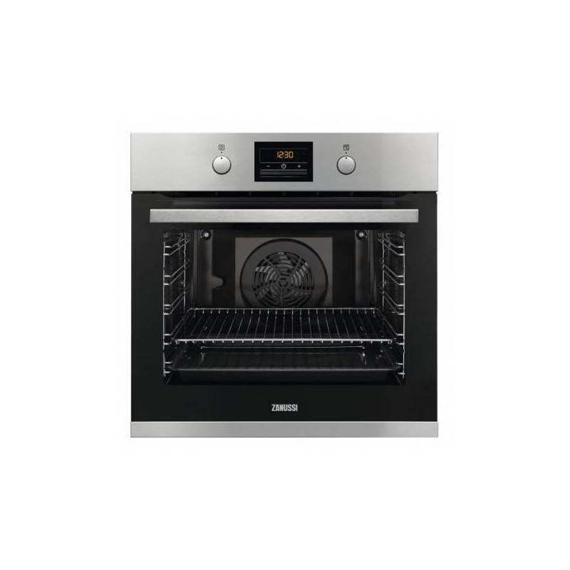 Pyrolytic Oven Zanussi ZOP37912XU 3480 W Stainless Steel Black