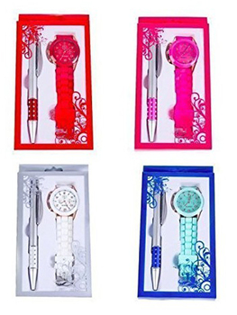 Lote 20 Relojes Style Silicona en caja + Boligrafo-Detalles de recuerdos y...
