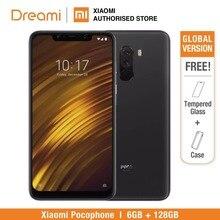 Versión Global Xiaomi Pocophone F1 128GB ROM 6GB RAM, ROM Oficial (Nuevo y Sellado) pocophonef1128 Teléfono Móvil