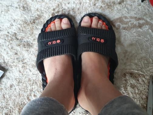 DAOKFPO Hot Beach Shoes Casual Men Sandals Slippers Summer Outdoor Flip Flops Flats Non slip Bathroom Home Massage Slippers T 06|Slippers| |  - AliExpress