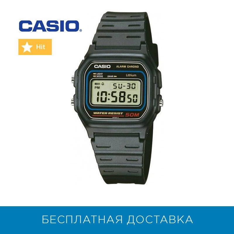 Montres à Quartz Casio pour hommes montres W-59-1V hommes montre-bracelet montre-bracelet hommes