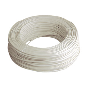 Telephone Cord Flat Hose Pipe Box 100 M Electro DH 49.050/6/M, Color Small Ivory, 8430552032013