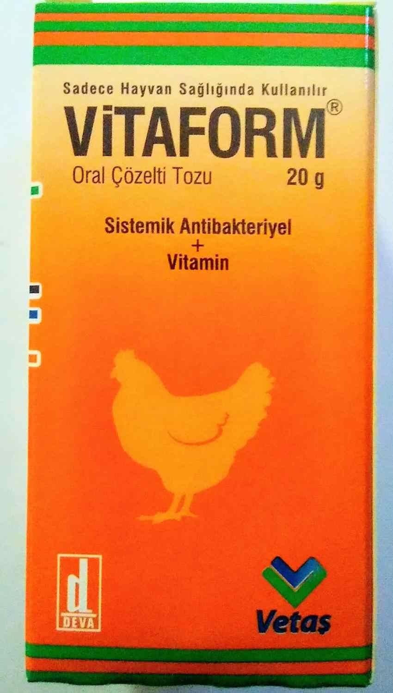 ViTAFORM, vitamine, minéral, antibiotique, volaille, poulet, dinde, oiseaux en cage, veau, agneau, lapin, chat, chien