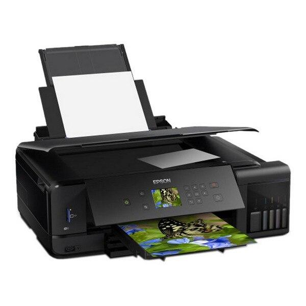Multifunction Printer Epson Ecotank ET-7750 13 PPM WIFI Black