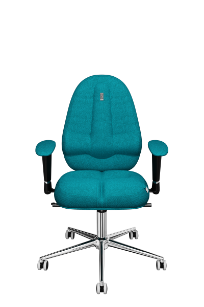 Office Chair KULIK SYSTEM CLASSIC Turquoise Computer Chair Relief And Comfort For The Back 5 Zones Control Spine