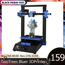 Twotrees 3Dเครื่องพิมพ์Bluer Muteไดรฟ์TMC2208แก้วResumeแหล่งจ่ายไฟ24Vหน้ากากพิมพ์BMG ExtruderชุดXY Tensionerแก้ว