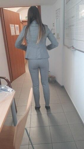 Female Elegant Business Uniform 2 Piece Set Pant Suits for Ladies Women's Business office Work Wear Blazers Trouser Sets Jacket reviews №1 132502
