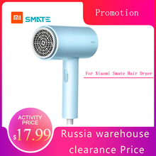 For Xiaomi Smate Electric Hair Dryer 1800W Hair Dryer 3 Gears Negative Ions Dual layer Air Intake Net Overheating Quick drying