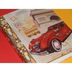 Винтажный автомобильный бумажник