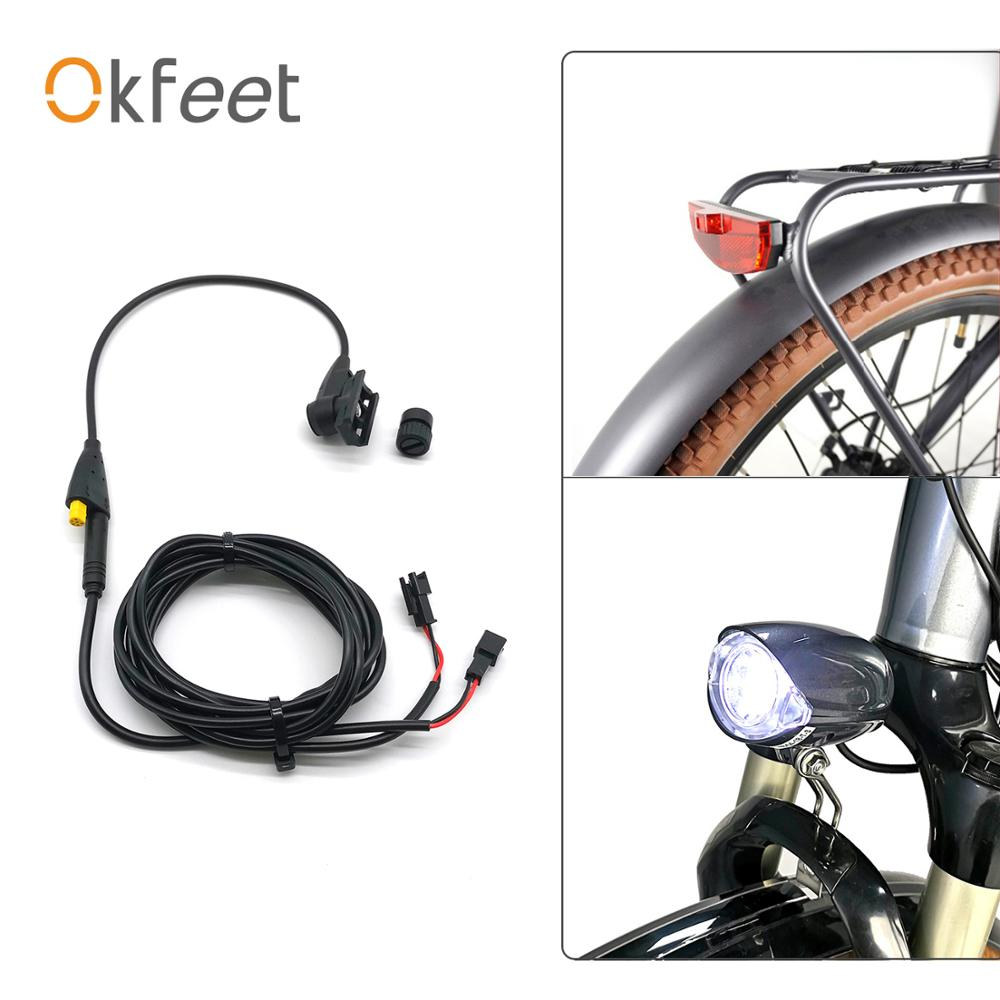Okfeet Tsdz2 Tongsheng Light Speed Sensor Mid Drive Motor Electric Bike Bicycle Conversion Kit With Light