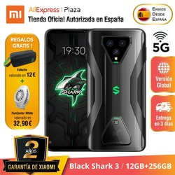 [Versión Global para España] Black Shark 3 (Memoria interna de 256GB, 12GB de RAM, Snapdragon 865, 65W Hyper Charge 4720)