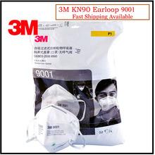 50 sztuk partia 3M 9001 maska przeciwpyłowa KN90 składana maska przeciwpyłowa Anti-pm2 5 Respirator maski przeciwmgielne maska ochronna LT024 tanie tanio Chin kontynentalnych GB2626-2006 Włókniny