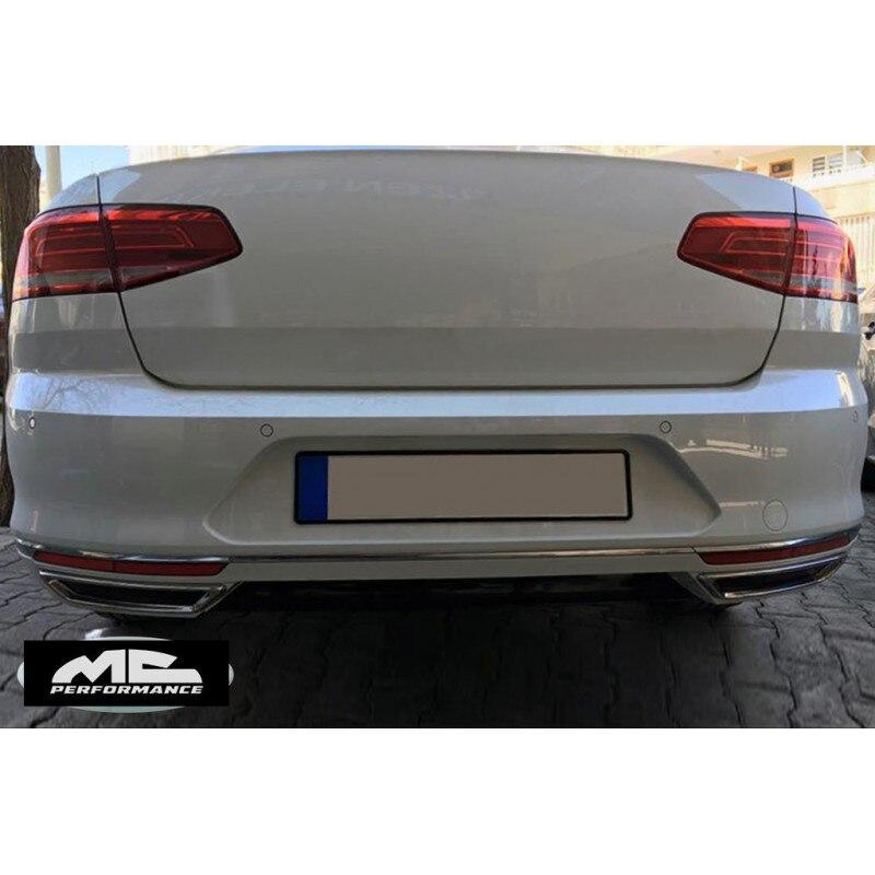 Exhaust Moldings  for Passat B8 Sedan, Variant