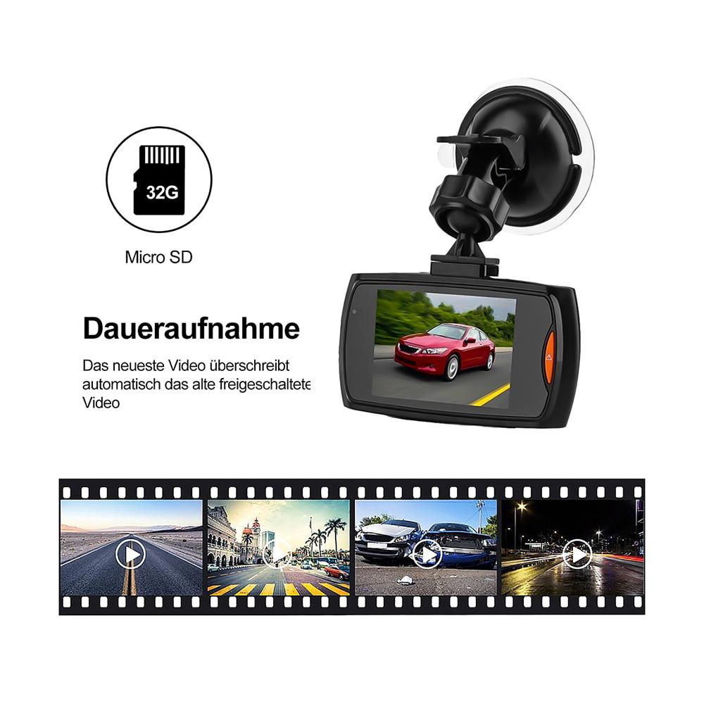G30 Dash Cam Video Recorder 1080P Car DVR  Dashcam Cycle Recording Night Vision Wide Angle Video Registrar 2