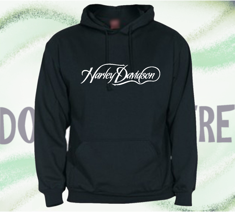 Sweatshirt with Hood type HARLEY DAVISON LOGO man woman CHILD
