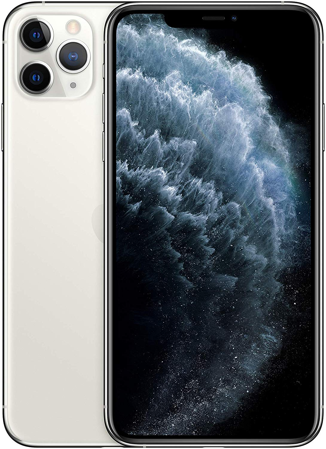 Phone Apple IPhone 11 Pro Max, Silver Color (Silver), 4 GB RAM, 512 GB ROM, OLED Display Super Retina XDR 6