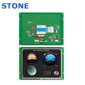 8 Inch HMI Smart LCD Touch Display Module Support Interface RS232/RS485/TTL for Equipment Use 4 3 inch hmi tft lcd display with serial interface rs232 rs485 ttl for equipment use