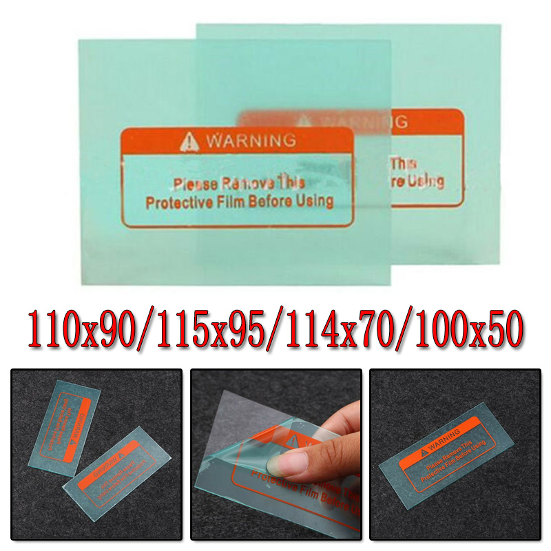 10pcs Transparent Clear Welding Helmet Mask Cover Lens Protection Plate 4 Size High Quality Protect Eye Weld Accessories