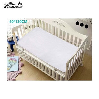 Viedouce fitted toddler kids bed bassinet baby crib sheet waterproof mattress bed fitted matress protector sheet for baby girl sweet jojo designs elizabeth fitted crib sheet