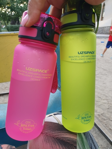 Hot Sale Sport Water Bottles Shaker Leakproof Camping Hiking Drink Bottle for water 500/1000ml Tritan Plastic Drinkware BPA Free-in Water Bottles from Home & Garden on AliExpress
