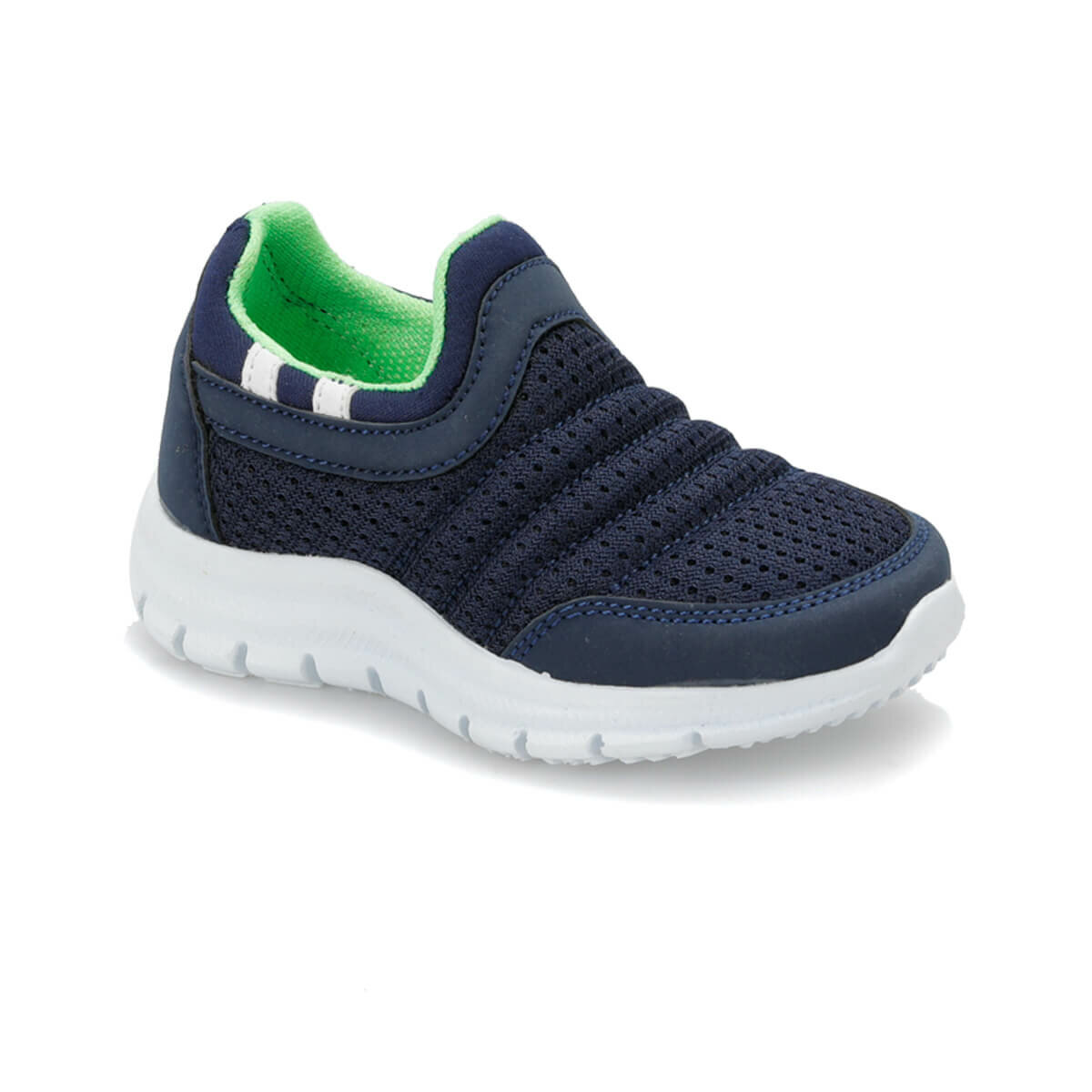 FLO BEN Navy Blue Male Child Hiking Shoes I-Cool