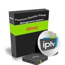 Wsparcie dla panelu sprzedawcy duchów IPTV