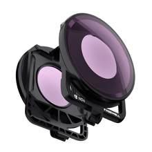 Freewell filtro de lente de câmera única compatível com insta360 um r (edição 360)