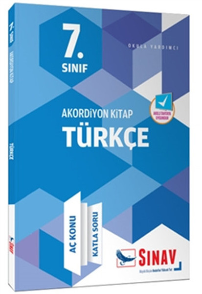7. Grade Accordion Series Turkish Hungry Subject Fold Question Collective Exam Magazine Publications (TURKISH)