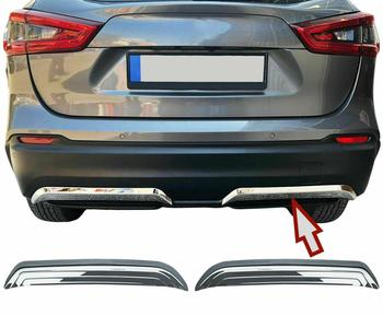 Exhaust Moldings  for Qashqai ii Facelift 2017