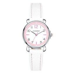 Viceroy  46900-05, Reloj Colección comunión Niña. Mouvement cuarzo. Caja acero, brazalete de cuero légitimo ......
