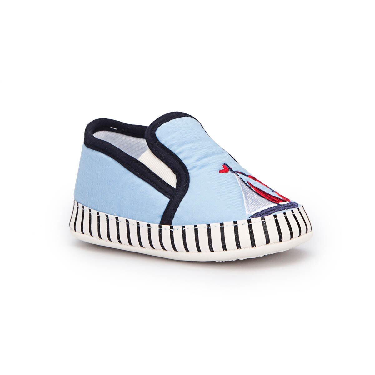 FLO ZIGGY-8 Blue Male Child Slippers SPYMAN