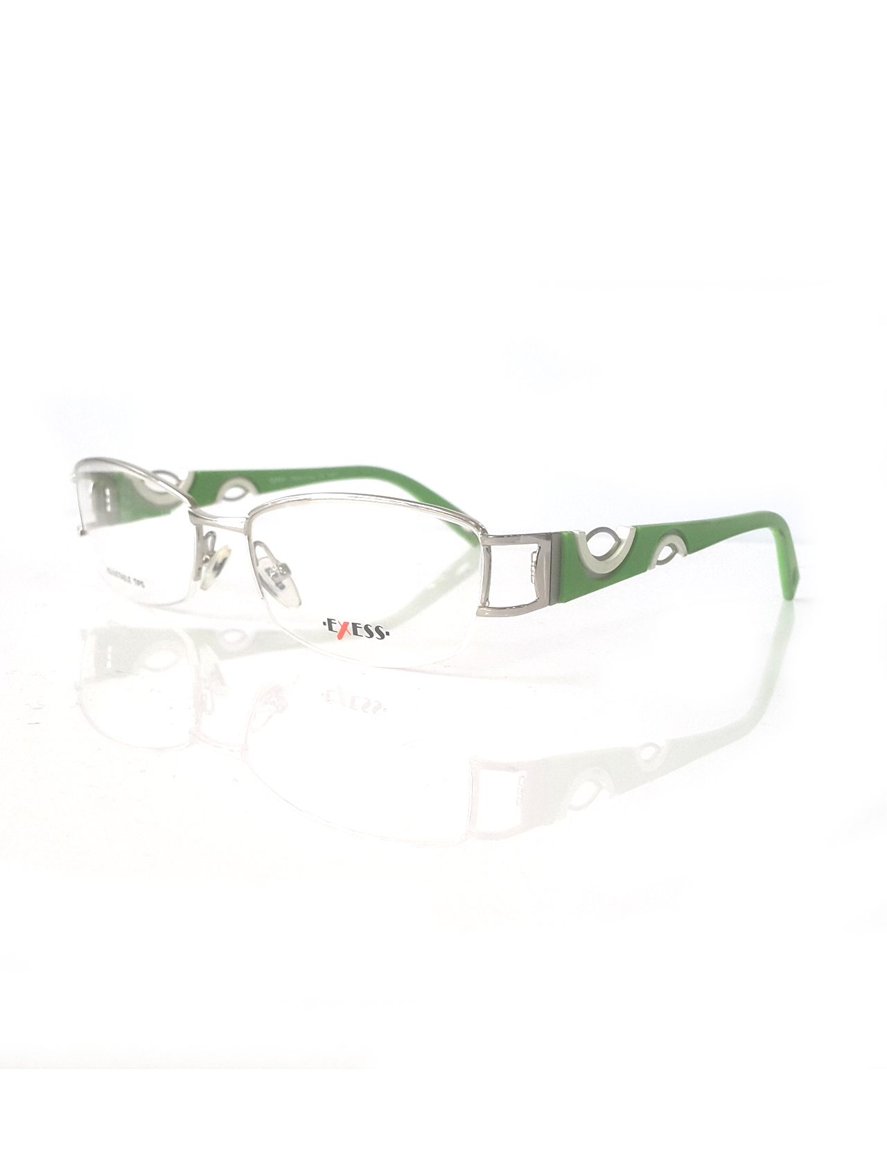 Markamilla Women Reading Glasses Frame Demo Glasses Eyewear Transparent High Quality WomenExess E 8002 154 53