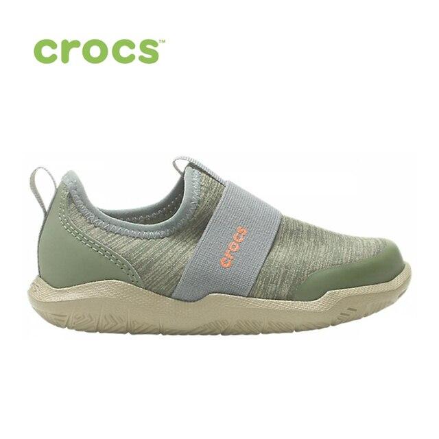 CROCS Swiftwater EasyOn Hthr Shoe K KIDS