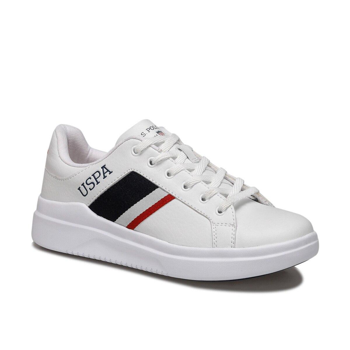 FLO CAMEL 9PR White Women 'S Sneaker Shoes U.S. POLO ASSN.