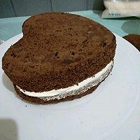 巧克力戚风~生日蛋糕的做法图解14