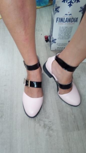 sandálias femininas mulher fivela sandálias