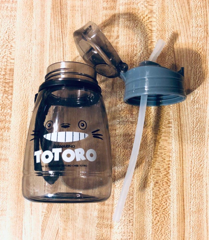 Children's Water Cup Leak proof Straw Bottle Summer Student kettle Cute Portable Plastic Sport Bottles for Kids-in Water Bottles from Home & Garden on AliExpress