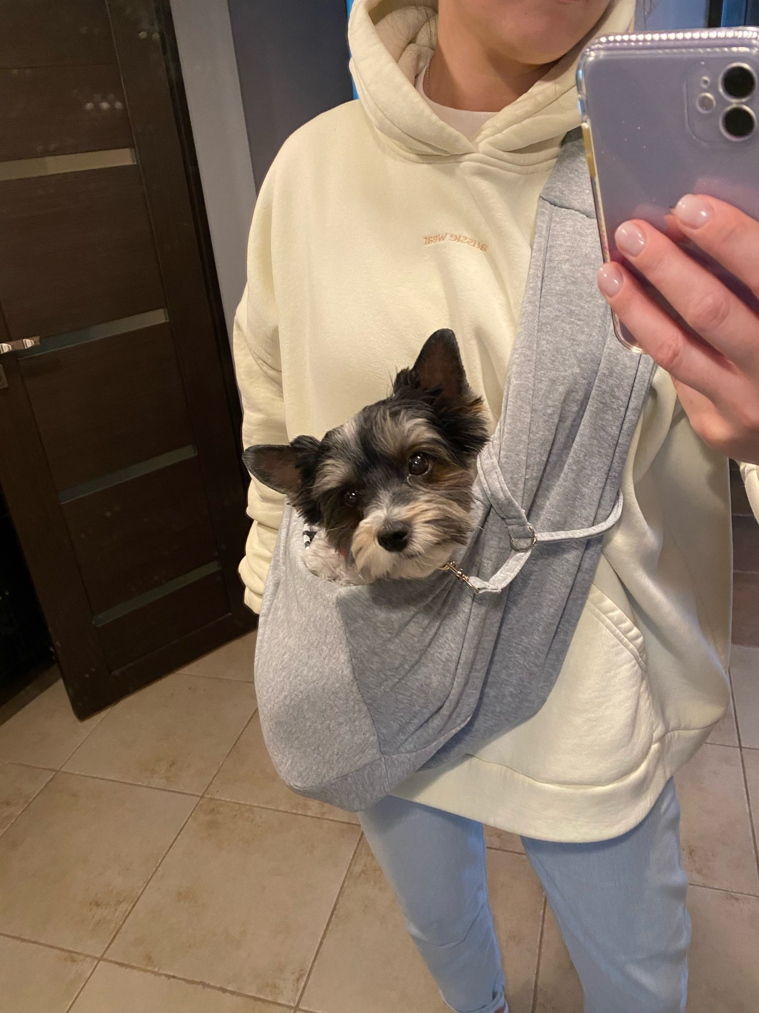 DogMEGA Hands-free Reversible Small Dog Sling Carrier photo review