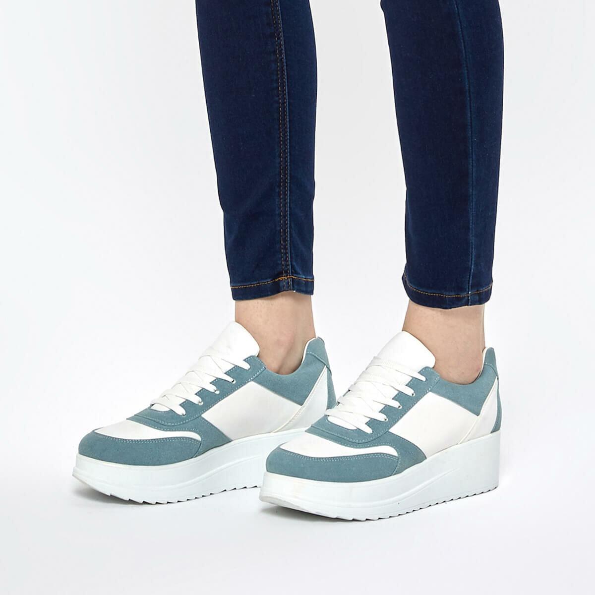 FLO SIMKA68Z Light Blue Women 'S Sneaker Shoes BUTIGO