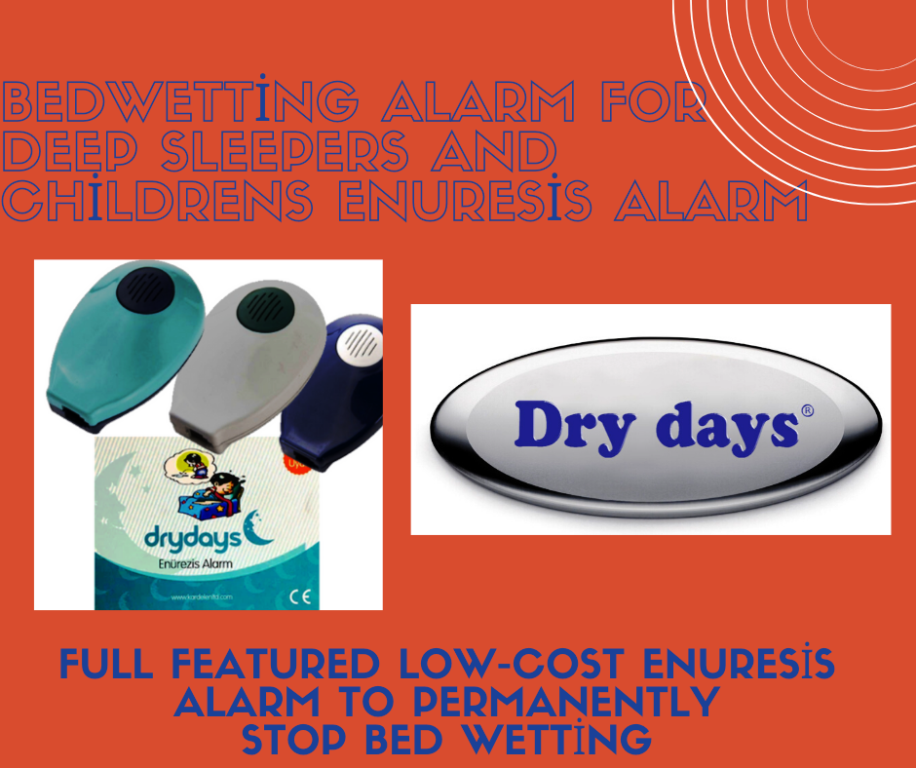 Bedwetting Alarm For Deep Sleepers And Childrens  Enuresis Alarm