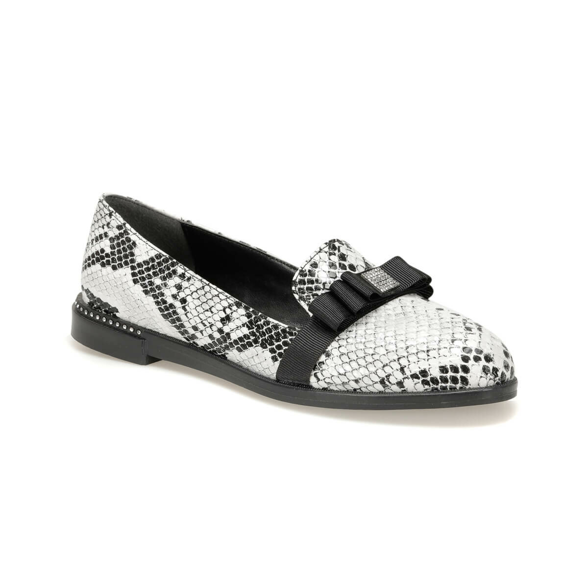 FLO STEWART91Z SKIN Snake Color Women Loafer Shoes BUTIGO