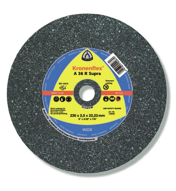 Circle Cutting KLINGSPOR 125х2х22 Kronenflex A 36 R SUPRA