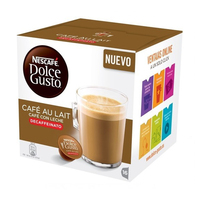 Kahve kapsülleri Nescafé Dolce Gusto 97934 Café Au Lait (16 uds) kafeinsiz