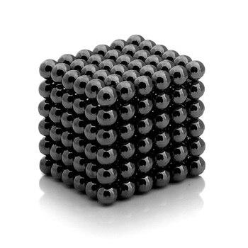 Neocube (neocube) negro 216 bolas (5mm)