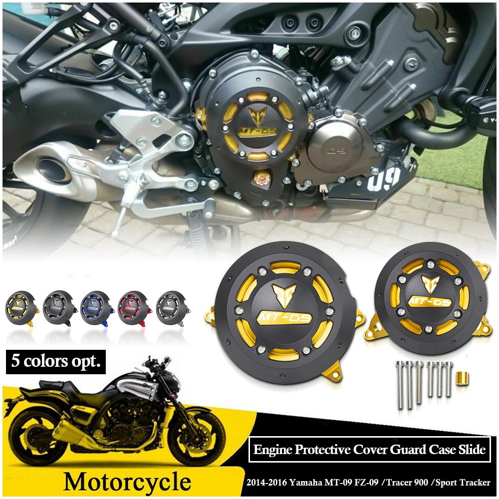 Engine Stator Slider Cover Crash Protector Guard For 2014-2018 BMW S1000R 2017