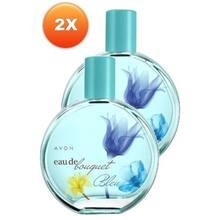 Avon – Eau De Bouquet Bleu pour femmes, parfum Edt, 50 Ml AVON – parfum Original et sous licence, 2 pièces