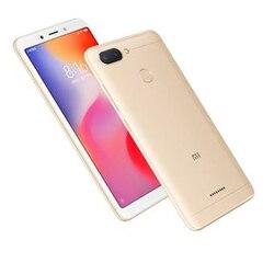 Xiaomi Redmi 6, wersja globalna, zespół 4G/LTE, Dual SIM, 3 twarde GB pamięci RAM, 64 bardzo ciężko GB pamięci wewnętrznej, 3000 mAh, (13,8 cm (spodnie 3