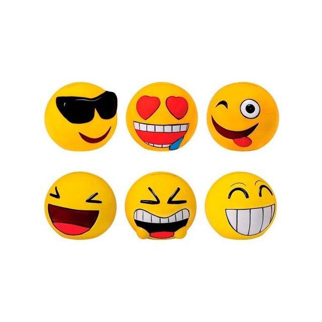 Huchas Emoticonos de Cerámica