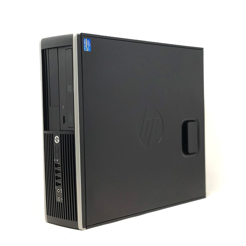 HP Elite 8300 SFF-desktop Computer (Intel Core I7-3770 T, 8 Hard GB RAM, SSD Disk 240 Hard GB, No Reader, WIFI, GEFORCE GT 710