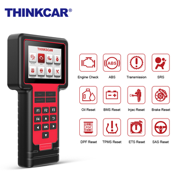 THINKCAR THINKSCAN 609 OBD2 Car Scanner Engine TCM ABS SRS Full System Auto Code Reader OBD 2 Scanner Automotivo Diagnostic Tool launch cr619 obd2 car diagnostic tool engine abs srs airbag read clear error code auto scanner launch obd 2 scanner free update